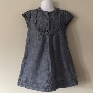 Baby Gap Toddler Girls Chambray Dress Size 4